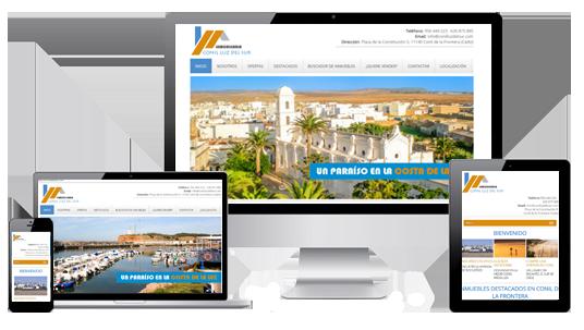dise o paginas web inmobiliarias dise o web profesional